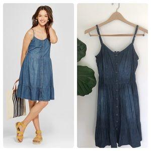 b001bca4fe Universal Thread Tiered Denim Dress! NWOT!